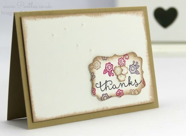 Stampin' Up! Demonstrator Pootles - Cottage Greetings Notecards and 12 Deals of Christmas