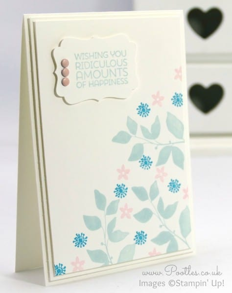 Stampin' Up! Demonstrator Pootles - Soft Summer Silhouettes 12 Deals of Christmas