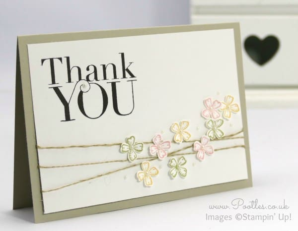 Stampin' Up! Demonstrator Pootles - Something To Say, Another Thank You 12 Deals of Christmas