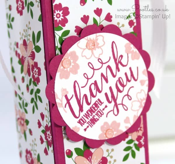 Stampin' Up! Demonstrator Pootles - Spring Summer Stampin' Up! Stars Blog Hop Stampin Detail