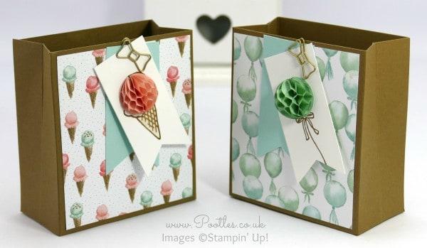 Pootles' SpringWatch Birthday Bouquet Box Tutorial
