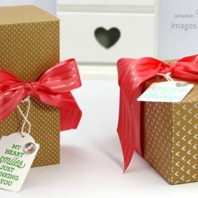 Pootles SpringWatch Shine On Fold Flat Box Tutorial