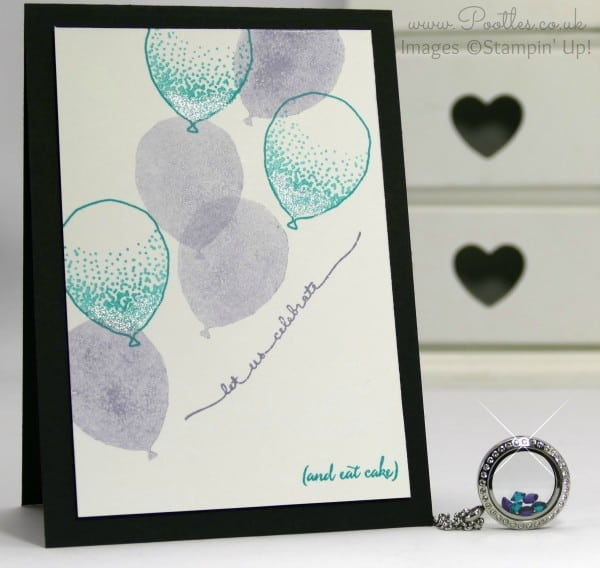 South Hill Designs - Purples and Blue Balloons