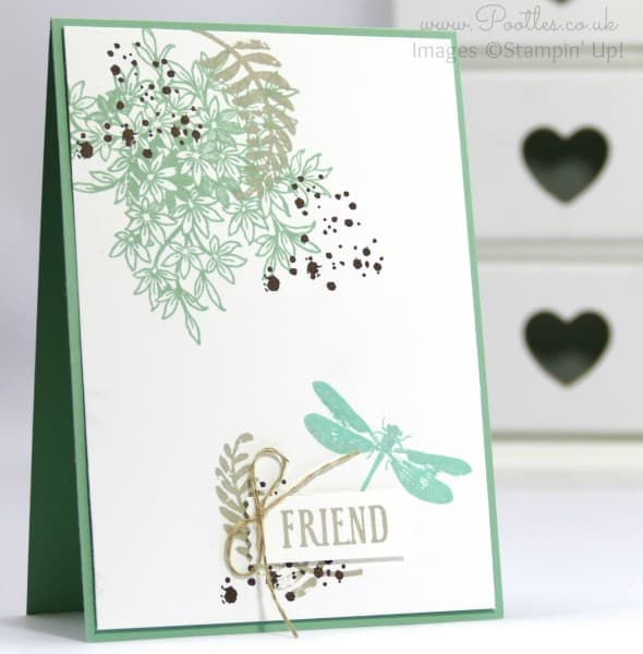 Stampin' Up! Demonstrator Pootles - Awesomely Artistic with a Wink of Stella
