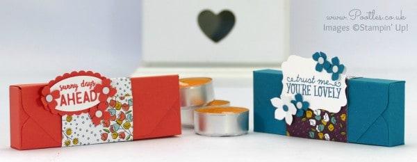 Stampin' Up! Demonstrator Pootles - Envelope Punch Board Ikea Tealight Box Tutorial
