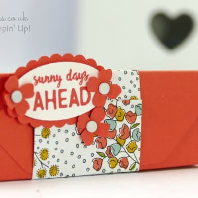 Envelope Punch Board Ikea Tealight Box Tutorial