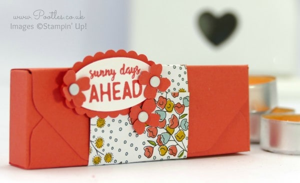 Stampin' Up! Demonstrator Pootles - Envelope Punch Board Ikea Tealight Box Tutorial Single
