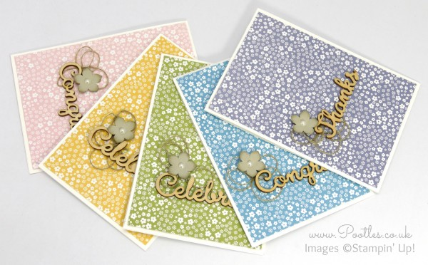 Stampin' Up! Demonstrator Pootles - Expressions Elements and a Subtles Showcase collection