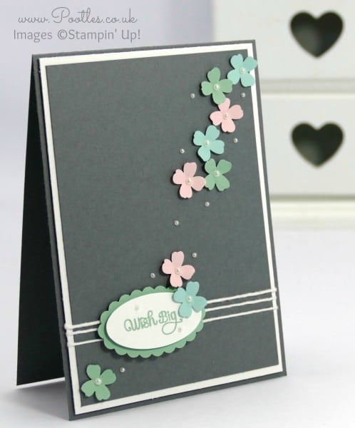 Stampin' Up! Demonstrator Pootles - Greys and Pastels make for pretty cards!