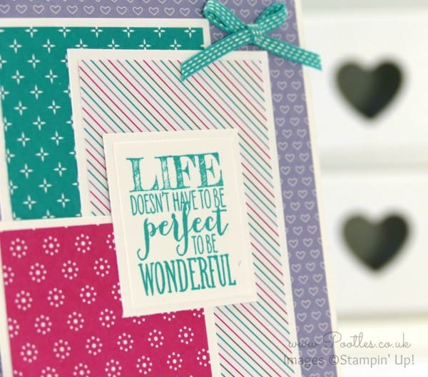 Stampin' Up! Demonstrator Pootles - Have a Cuppa DSP Show Offs! Perfect Pennants Stamping