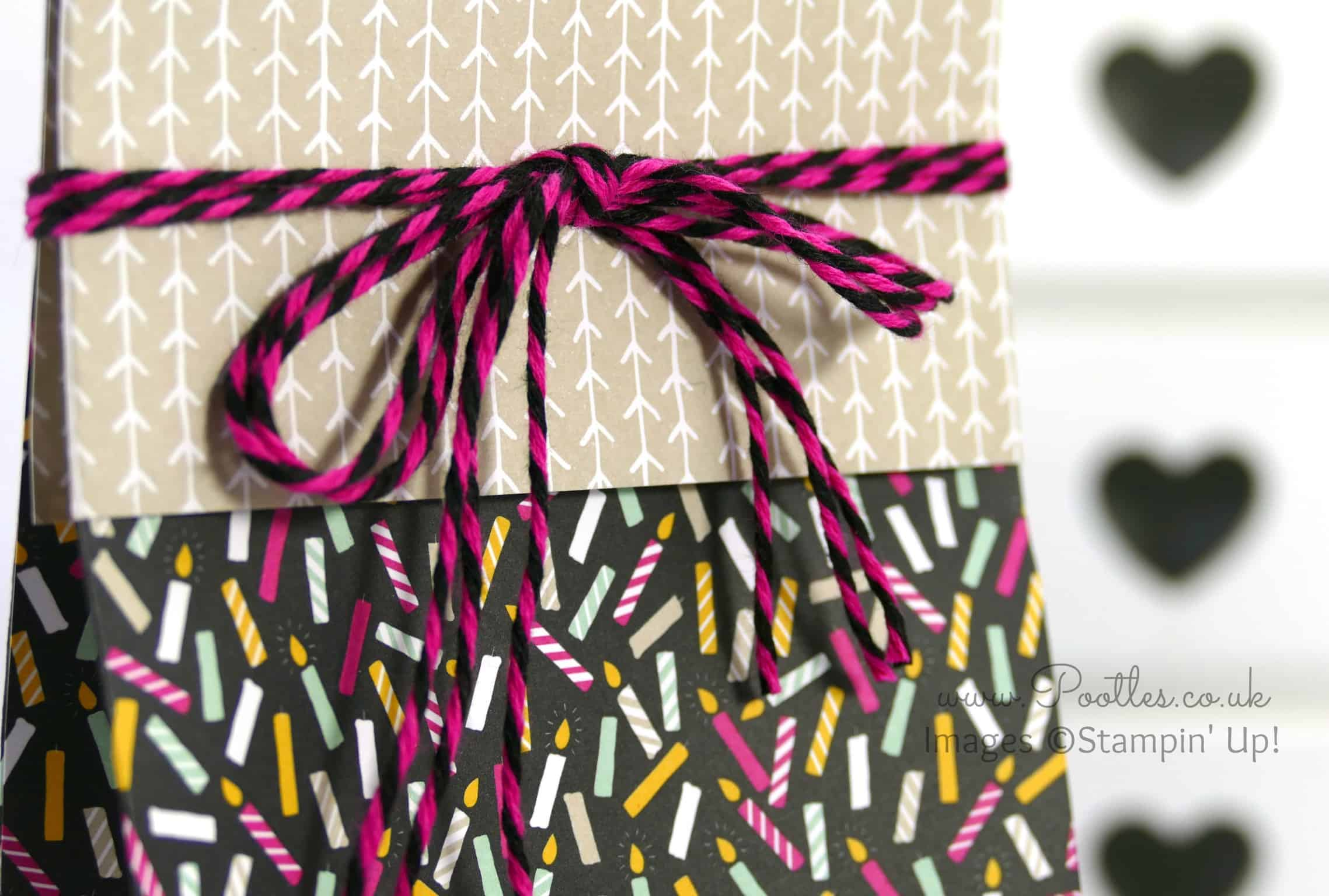 It's My Party Huge Bag using Stampin' Up! DSP