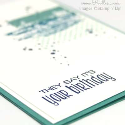 Manly Birthday Card with Timeless Textures