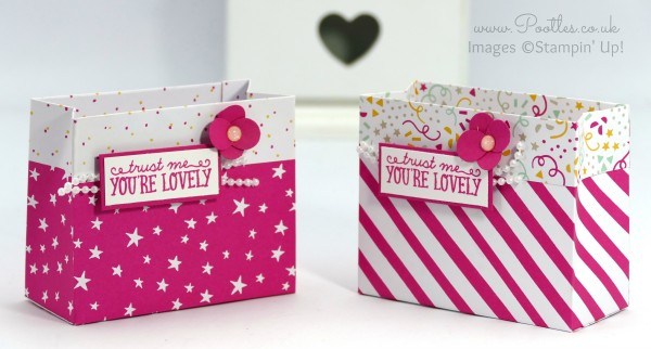 Stampin' Up! Demonstrator Pootles - Party Bag using Stampin' Up! DSP