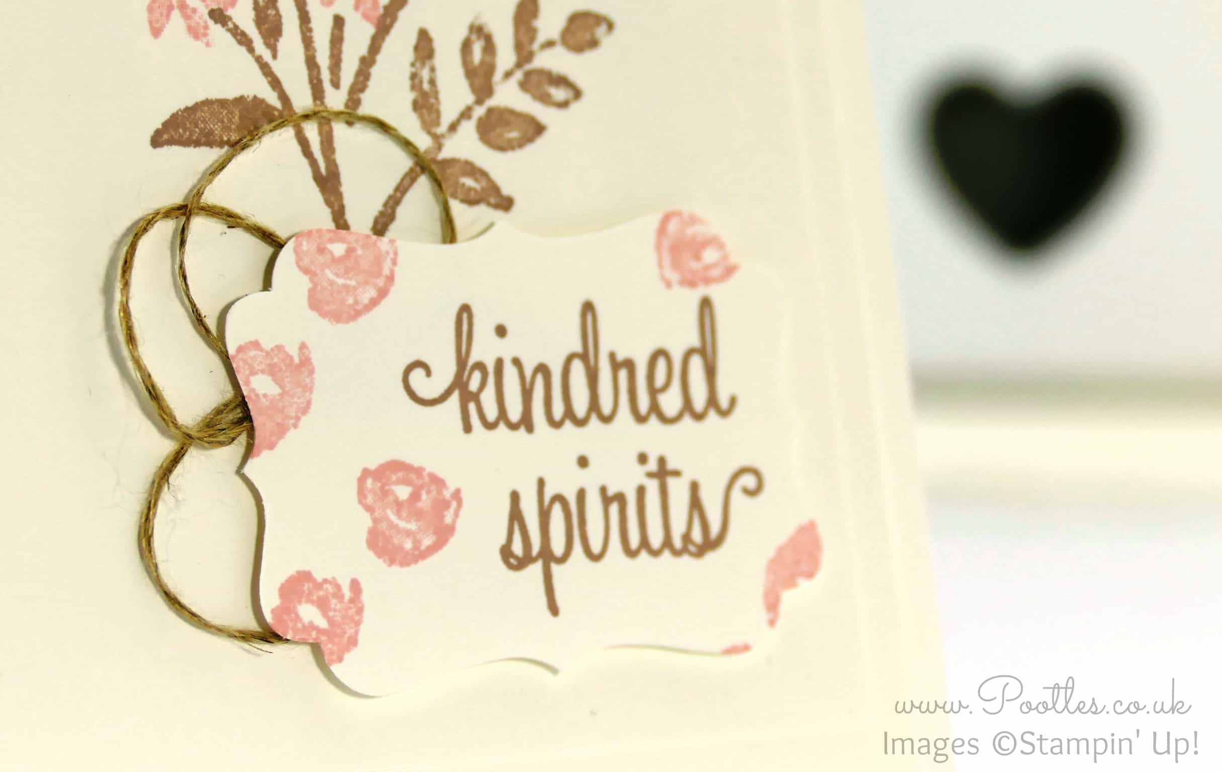 Pretty Soft Floral Card for Kindred Spirits!