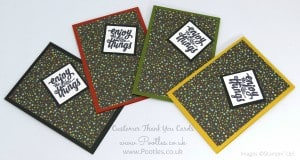 Stampin' Up! Demonstrator Pootles - Thank You Cards with Botanical Gardens 4