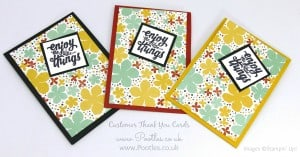 Stampin' Up! Demonstrator Pootles - Thank You Cards with Botanical Gardens 6
