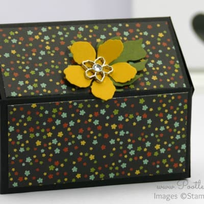 Way Back Wednesday – Pentagonal Treasure Chest Keepsake Box