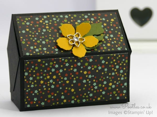 Stampin' Up! Demonstrator Pootles - Way Back Wednesday - Pentagonal Treasure Chest Keepsake Box