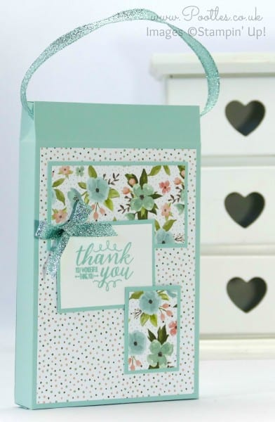 Stampin' Up! Demonstrator Pootles - Way Back Wednesday - Shopping Bag Card Holder