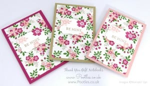 Stampin' Up! Demonstrator Pootles - Way Back Wednesday - Thank You Notebooks! 2
