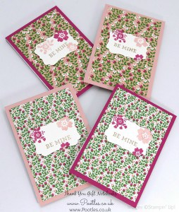 Stampin' Up! Demonstrator Pootles - Way Back Wednesday - Thank You Notebooks!