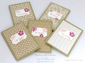 Stampin' Up! Demonstrator Pootles - Way Back Wednesday - Thank You Notebooks! 5