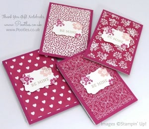 Stampin' Up! Demonstrator Pootles - Way Back Wednesday - Thank You Notebooks! 6
