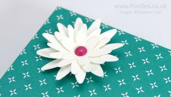Pootle's SpringWatch Reinforced DSP Lidded Box Tutorial Blossom Bunch Punch close up