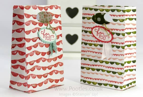 Pootles' SpringWatch Way Back Wednesday Fold Flat Party Bag Tutorial