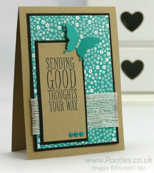 Stampin' Up! Demonstrator - Crazy Colour Challenge - Bermuda Bay and Crumb Cake