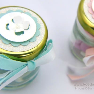 Adorable Shower/Favour Jars Tutorial