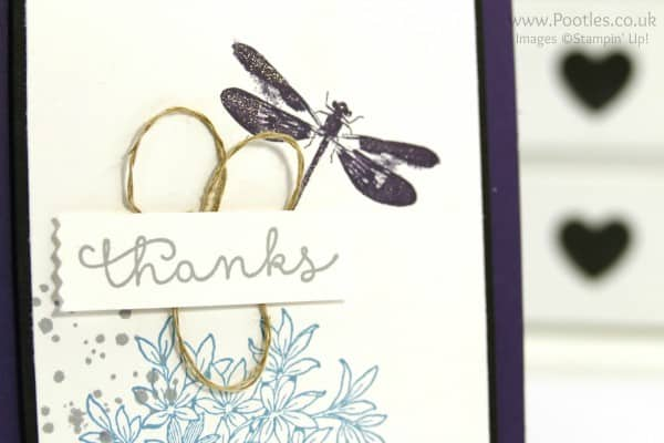 Stampin' Up! Demonstrator Pootles - Awesomely Artistic Large Bordered Card Tutorial Close Up