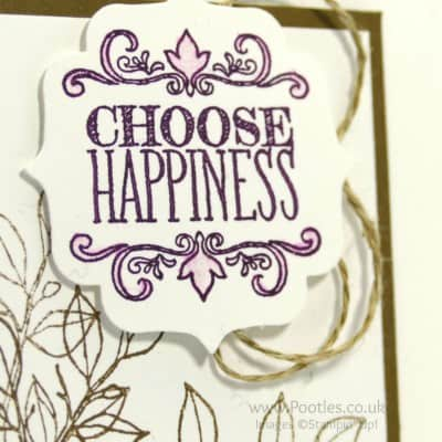 Choose Happiness. Simply Happiness