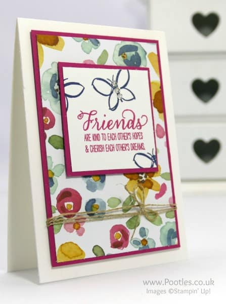 Stampin' Up! Demonstrator Pootles - English Garden in Bloom!
