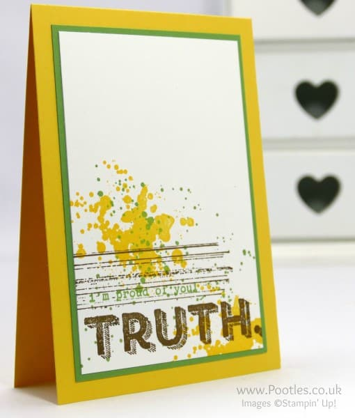 Stampin' Up! Demonstrator Pootles - Gorgeous Grunge Words of Truth
