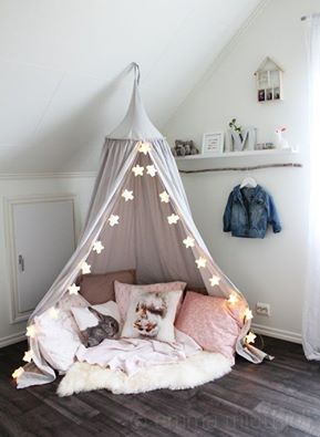 pinterest reading tent