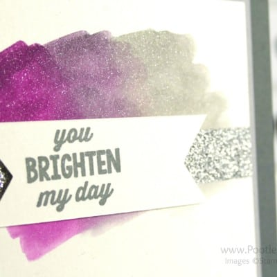 Colour Your World International Blog Hop – Watercolour Sunburst Sayings
