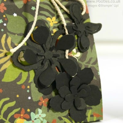 Botanical Gardens Paper Bag Tutorial