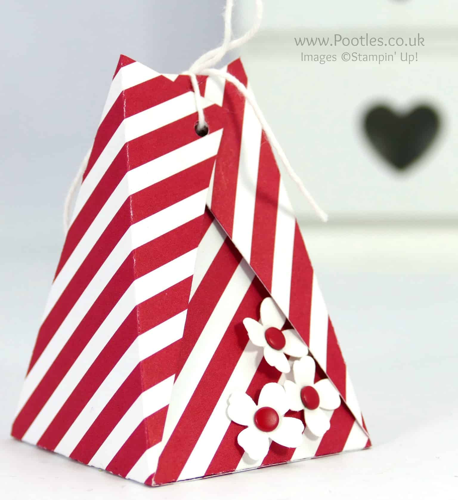 Easy Triangular Treat Box Tutorial