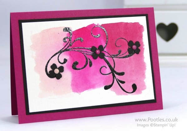 Stampin' Up! Demonstrator Pootles - Everything Eleanor, Pinks and Watercolour Paper