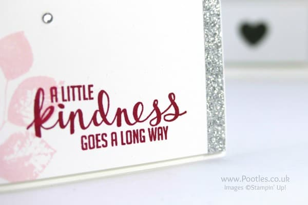 Stampin' Up! Demonstrator Pootles - Kinda Eclectic and Silver Accents Close Up