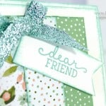 My 3rd Stampin' Up! Anniversary! Pretty Friend Card