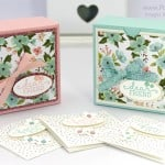 Pretty Box for 3×3 cards… Or for Soaps!
