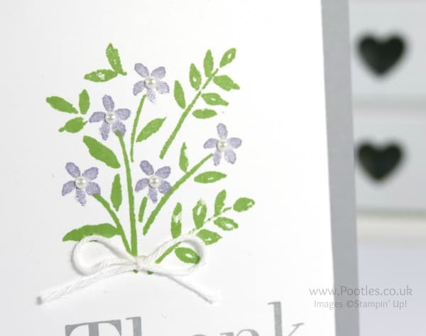 Stampin' Up! Demonstrator Pootles - Simply Wild About Flowers Close Up Detail