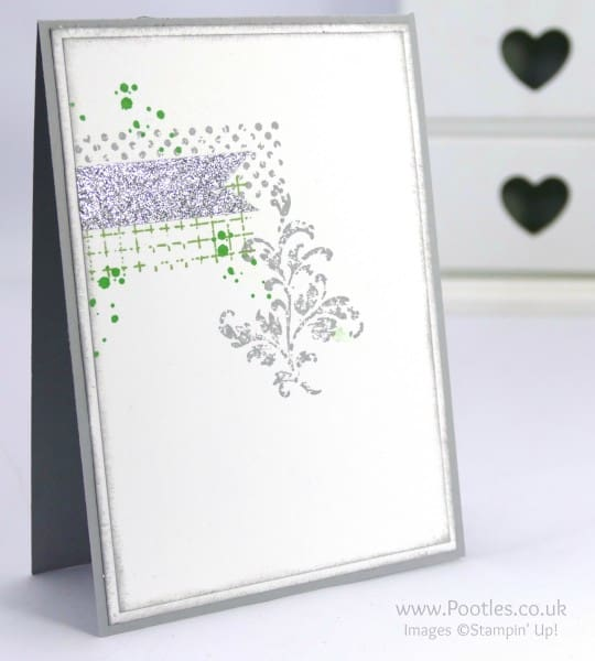 Stampin' Up! Demonstrator Pootles - Timeless Textures with FREE Glitter Tape!