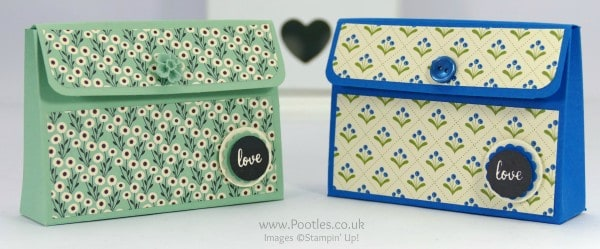 Stampin' Up! Demonstrator Pootles - Way Back Wednesday Easy Stick Purse Tutorial