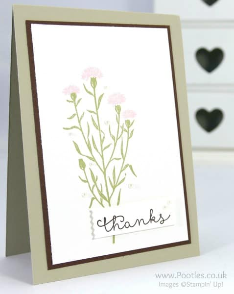 Stampin' Up! Demonstrator Pootles - Wild About Flowers, take 2....