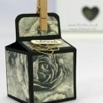 2 inch 5cm Cube Box Tutorial Using Timeless Elegance