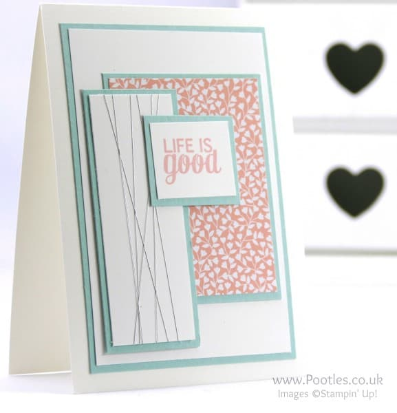 Stampin' Up! Demonstrator Pootles - Life is Good with Project Life and Love Blossoms