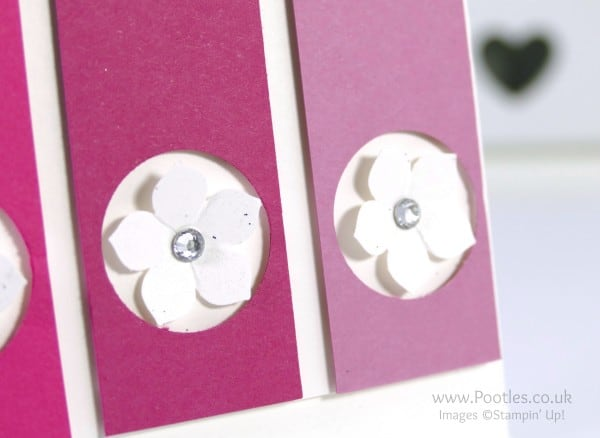 Stampin' Up! Demonstrator Pootles - Pretty Pinks and a Sweet Sugarplum Close UP
